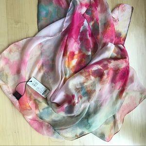 100%silk scarf. High quality.